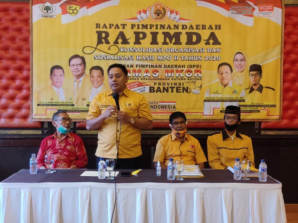 Ormas MKGR Banten Siap Menangkan Benyamin-Pilar Saga di Pilkada Tangsel