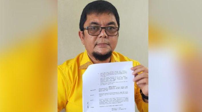 Ivan Wirata Ditunjuk Plt Ketua Golkar Muarojambi Karena Nawawi Hamid Tak Mampu Gelar Musda