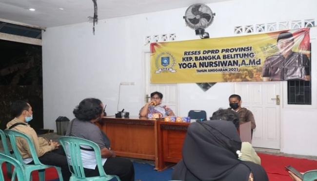Yoga Nusirwan Ajak Generasi Milenial Bangka Belitung Jadi Pelopor Pembangunan