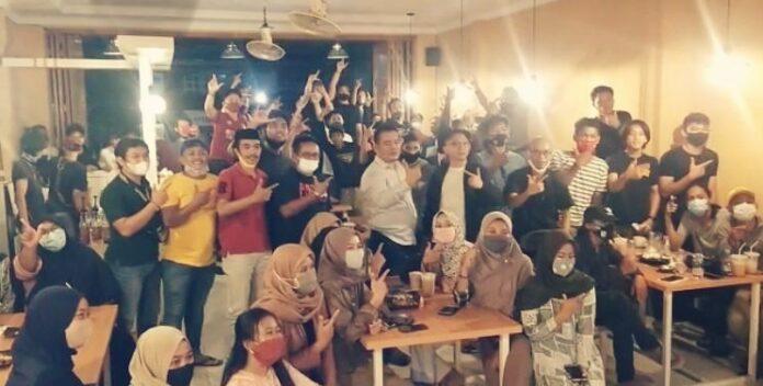 Komitmen Dukung Indah Putri Indriani-Suaib Mansyur, Milenial Sukamaju Raya Silaturahmi Dengan Muhammad Fauzi