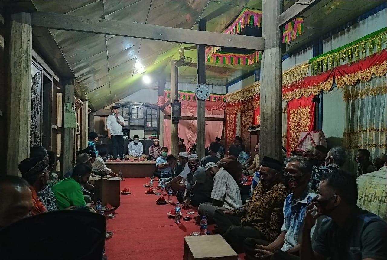 Pilkada Dharmasraya, Kaum Suku Tigo Nini Dt Sungguno Kompak Dukung Sutan Rika-Labuan