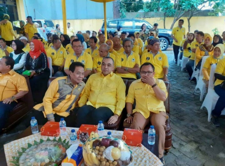 Ketua Golkar Jaktim Taufik Azhar Dukung Bupati Tangerang Ahmed Zaky Pimpin Golkar DKI
