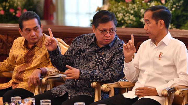 Jokowi Minta Airlangga Jadi Komandan PPKM Darurat Di 6 Provinsi dan 44 Kabupaten