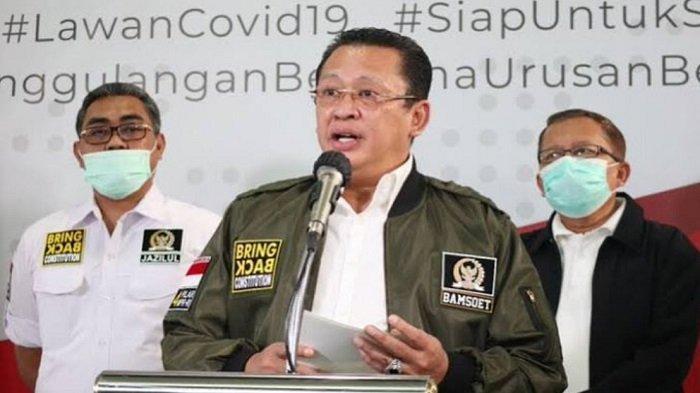 Pusat Ekonomi Nasional, Bamsoet Sarankan Pemerintah Lakukan Vaksin COVID-19 Di Pulau Jawa Dulu