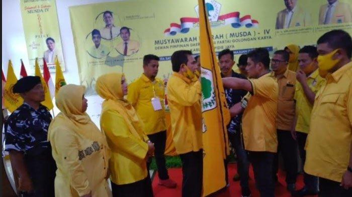 Khalid Terpilih Aklamasi Pimpin Golkar Pidie Jaya