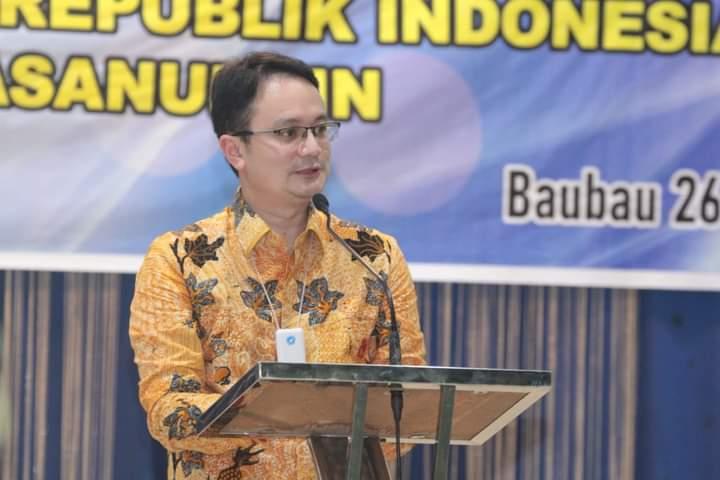 Sambangi Bau Bau, Wamendag Jerry Sambuaga Ajak Masyarakat Bangga Gunakan Produk Lokal