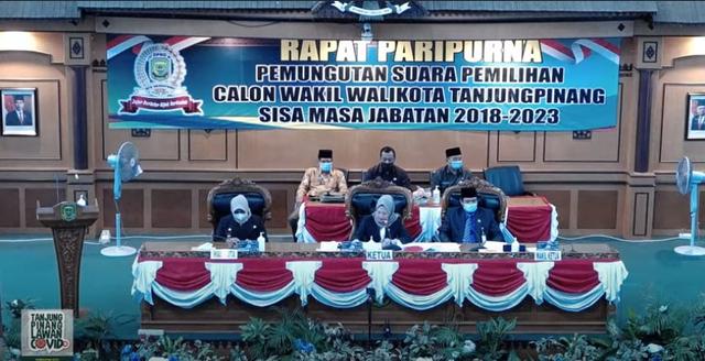 Mengejutkan! Ade Angga Kalah Satu Suara di Pemilihan Wakil Walikota Tanjungpinang