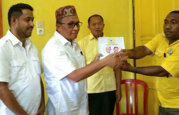 Tekad Ali Bauw-Yohanis Manibuy Kembalikan Kejayaan Golkar Di Teluk Bintuni