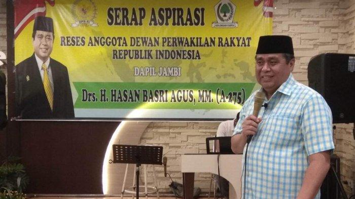 Jelang Musda Golkar Jambi, Hasan Basri Agus Ogah Al Haris Masih Pikir-Pikir