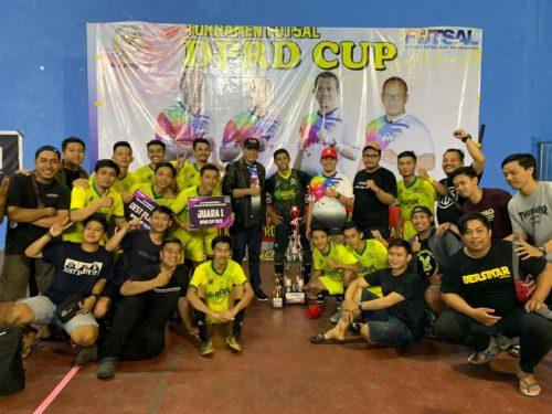 Hebat! AMPG Karanganyar Sukses Juarai Turnamen Futsal DPRD Cup 2020