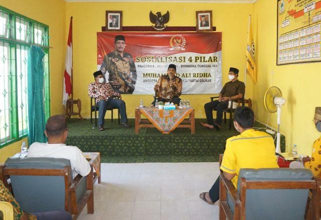 Muhammad Ali Ridho Ajak Warga Bangkalan Jaga Keutuhan NKRI Dengan 4 Pilar Kebangsaan
