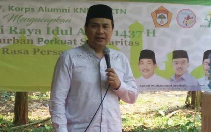 Aziz Syamsuddin Ajak Umat Islam Maknai Maulid Nabi Muhammad SAW Dengan Spirit Bangun Negeri