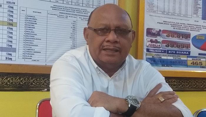 Golkar Usung Herman Anitu Basik-Basik di Pilkada Merauke