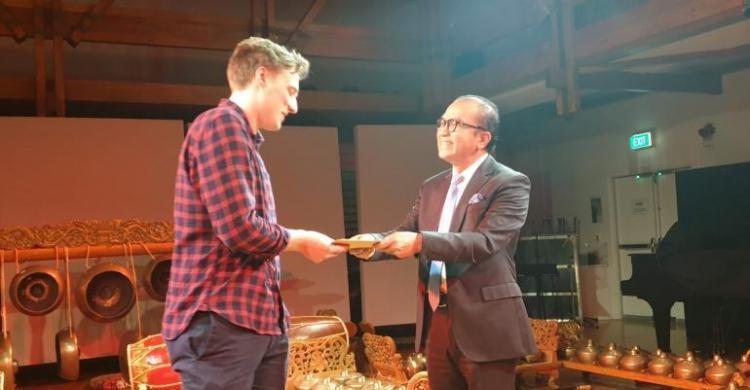 Tantowi Yahya Anugerahkan Gamelan Prize Untuk Mahasiswa New Zealand, Ini Alasannya