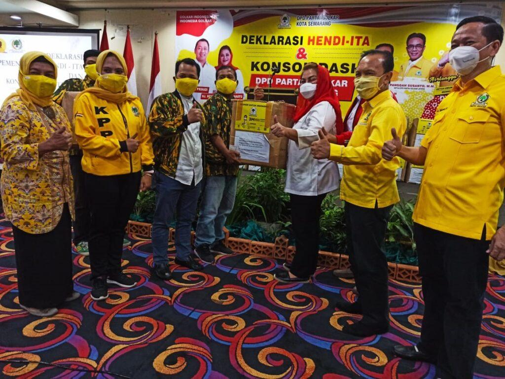 Erry Sadewo Tegaskan Golkar Kota Semarang Komitmen All Out Menangkan Hendi-Ita