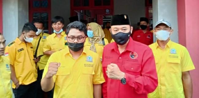 Ilyas Akbar Pimpin Kader Golkar Karanganyar Sambangi Kandang Banteng, Bahas Apa?