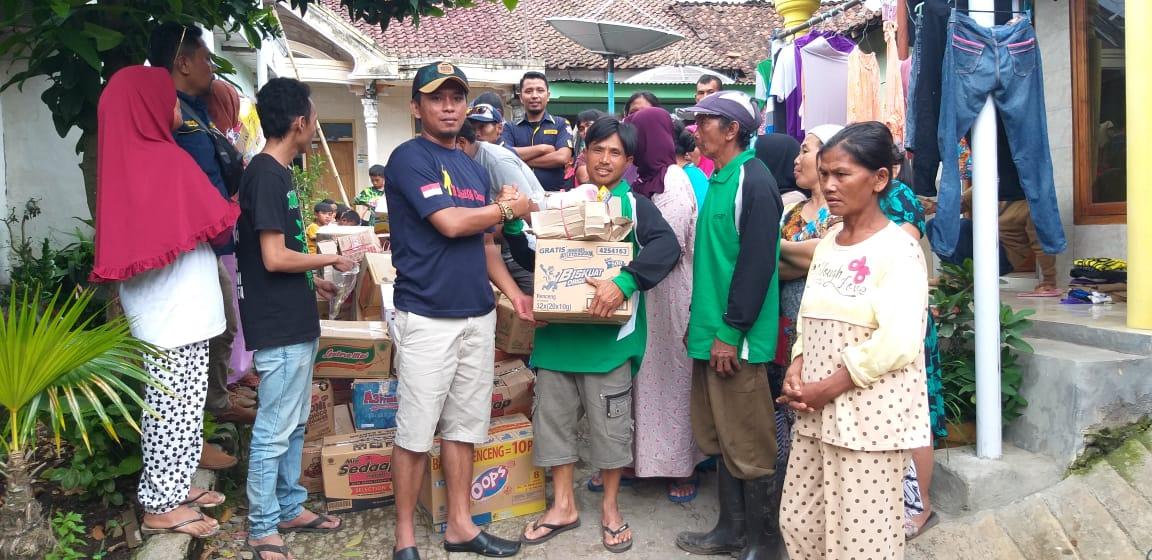 AMPI Bondowoso Berikan Bantuan Pada Korban Banjir Bandang di 2 Desa di Ijen