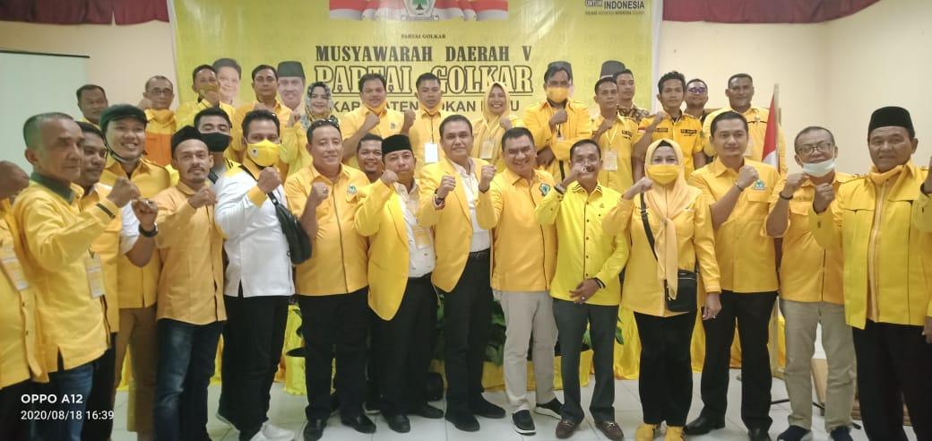 Sari Antoni Terpilih Lagi Pimpin Golkar Rokan Hulu Periode 2020-2025