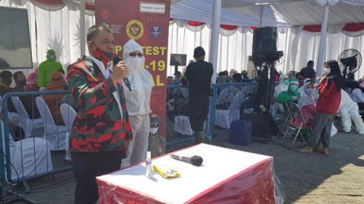 Baladhika Karya Jatim Apresiasi Rapid Test Massal Yang Digelar BIN di Surabaya