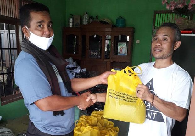 Meringankan Beban Sesama Kala Pandemi, Yod Mintaraga Ajak Warga Jawa Barat Rereongan