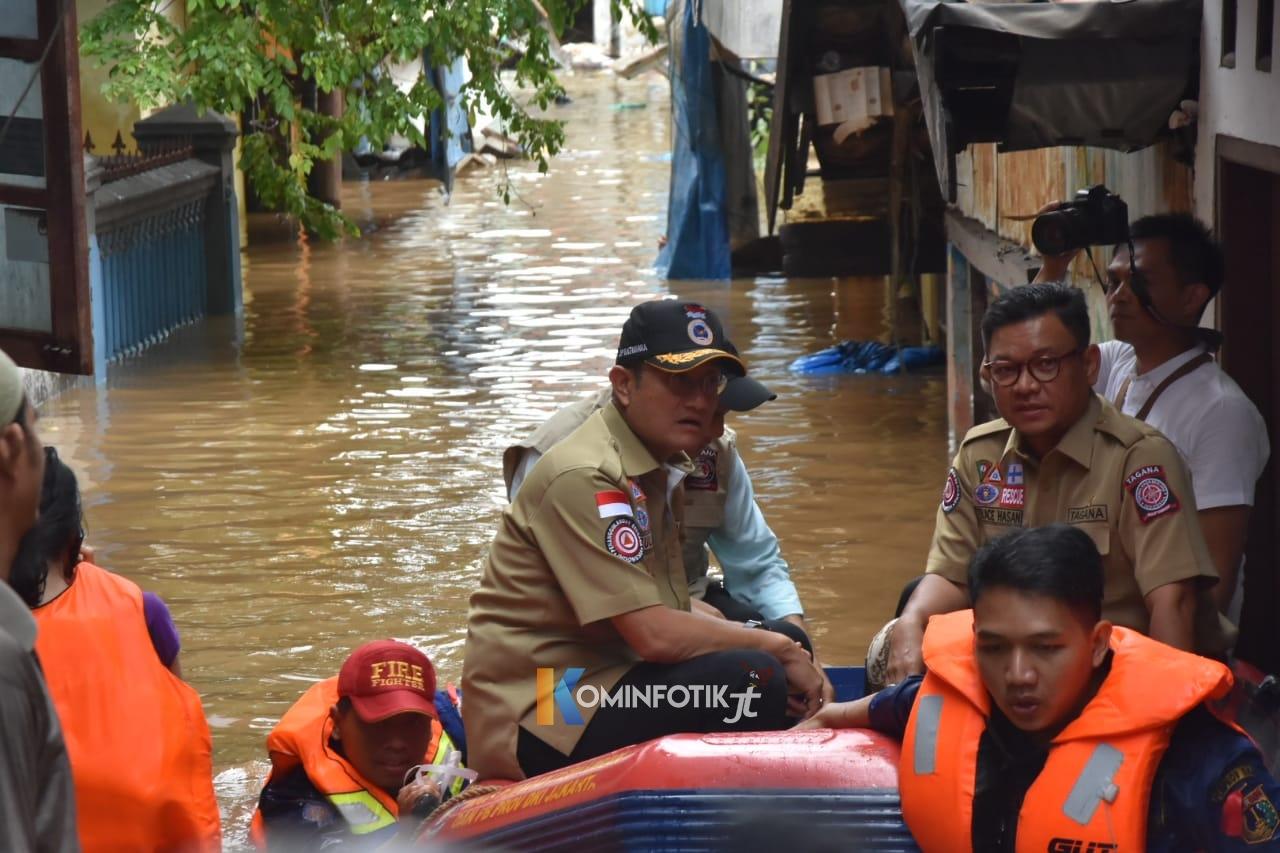 Ace Hasan Pastikan Penyelamatan dan Pelayanan Korban Banjir Berjalan Baik