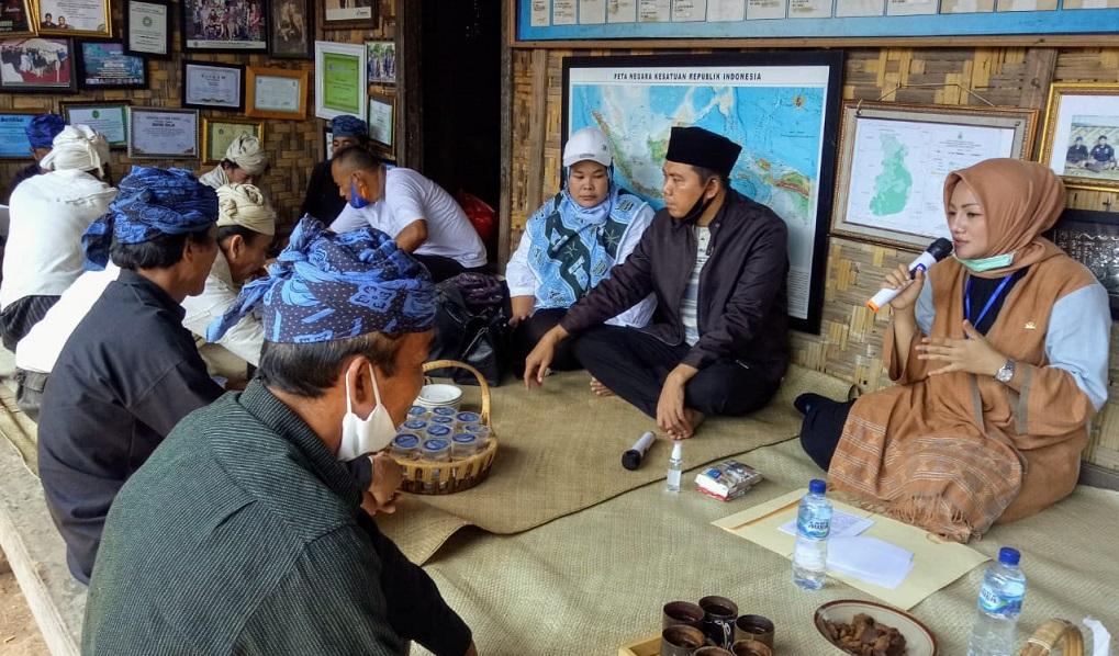 Kunjungi Leuwi Damar, Adde Rosi Siap Perjuangkan Aspirasi Masyarakat Adat Baduy