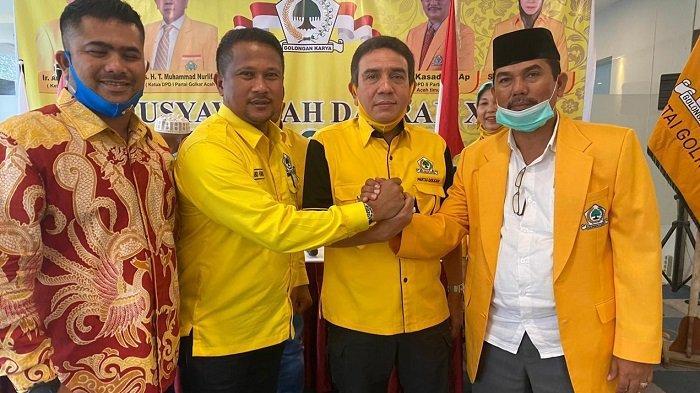 Kasad Kembali Terpilih Jadi Ketua Golkar Aceh Timur