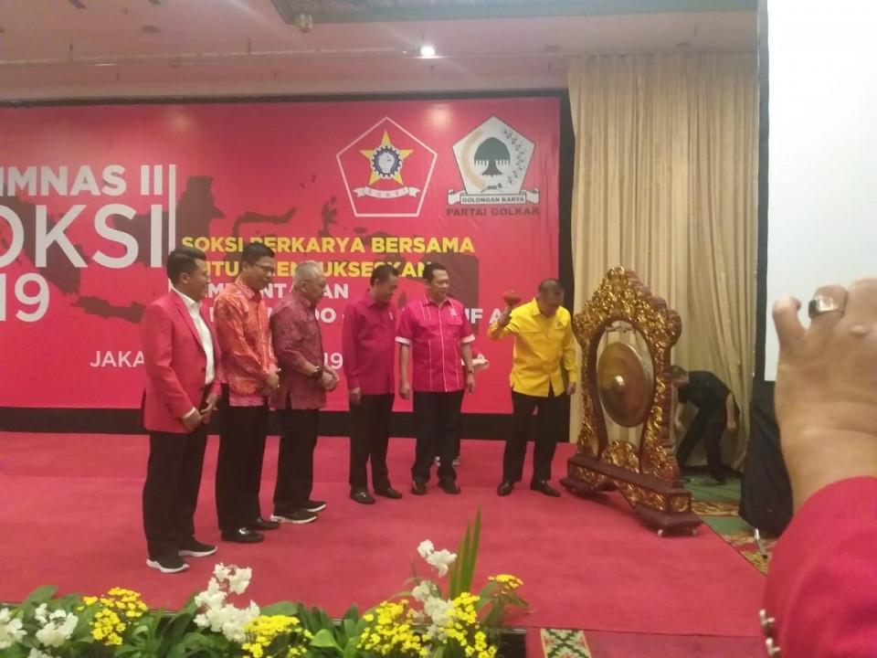 30 DPD se-Indonesia Hadiri Rapimnas II SOKSI Di Kartika Chandra