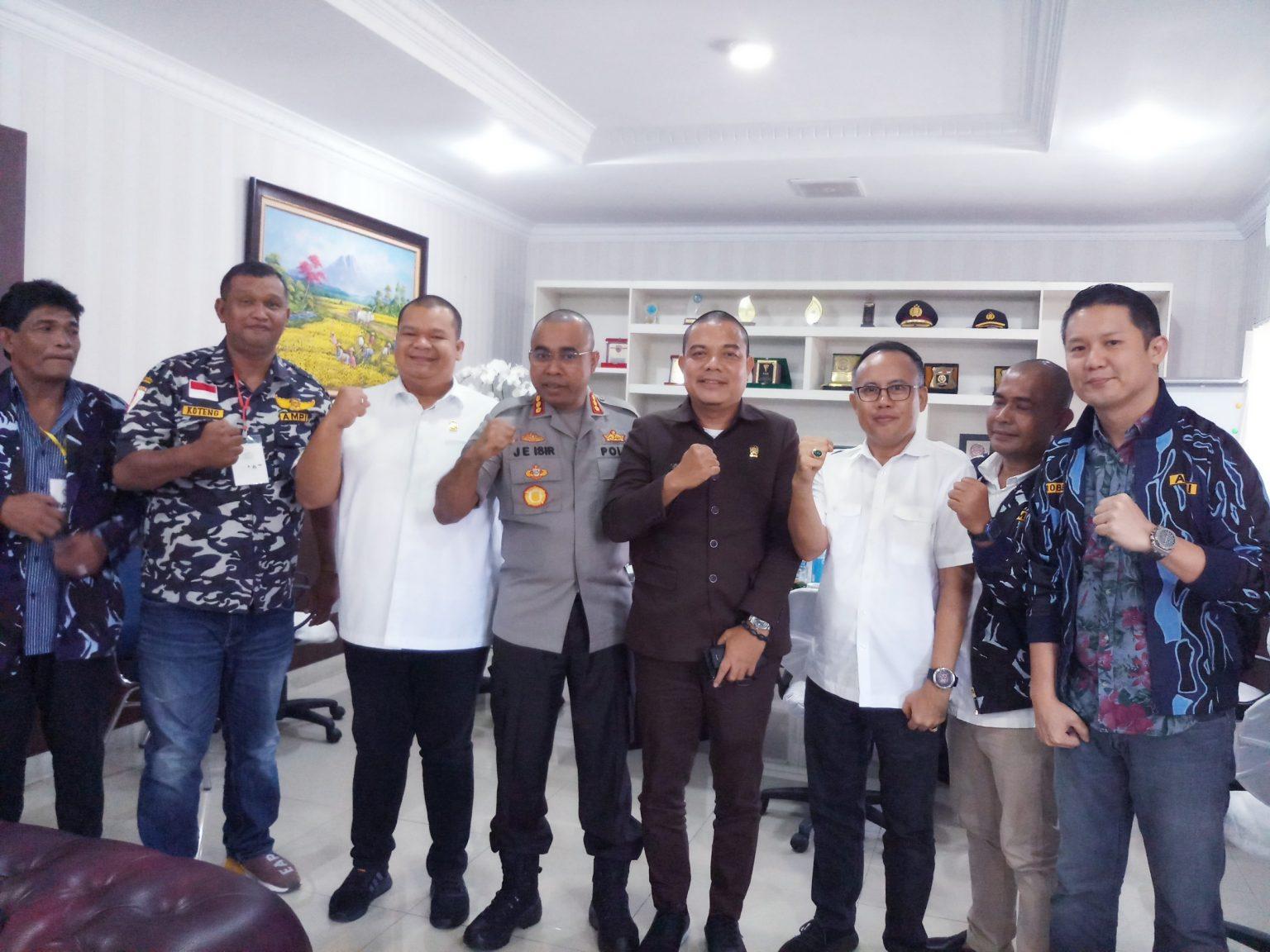 Kapolrestabes Medan Ajak AMPI Kolaborasi Ciptakan Suasana Kondusif