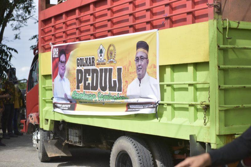 Muhammad Fauzi Salurkan 1.000 Paket Sembako Untuk Warga Malangke Barat Luwu Utara
