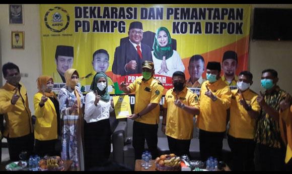 AMPG Jawa Barat dan AMPG Kota Depok Kompak Menangkan Pradi-Afifah