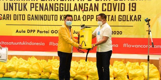 Dito Ganinduto Sebut Pandemi Corona Takkan Tuntas Tanpa Gotong Royong