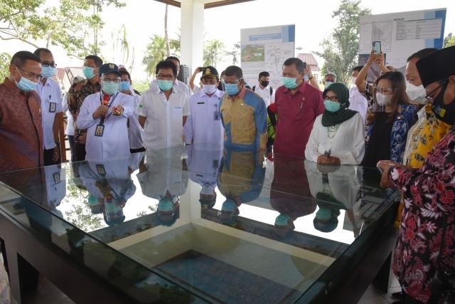 Kurangi Banjir dan Penuhi Kebutuhan Irigasi, Ridwan Bae Apresiasi Bendungan Sindang Heula Banten
