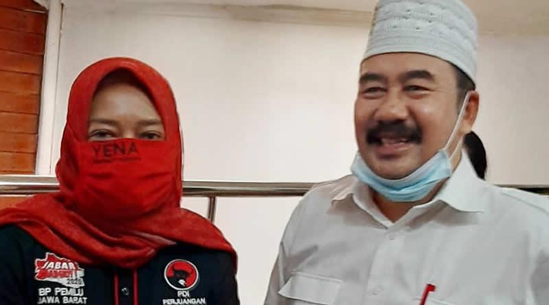 Silaturahmi Politik Balon Bupati Bandung, Deding Ishak Disambut Hangat Pengurus PDIP Jawa Barat