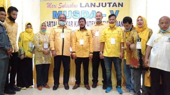 Adriadi Terpilih Aklamasi Pimpin Golkar Aceh Tamiang
