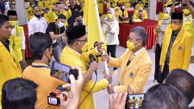 Disaksikan 4 Kepala Daerah, Nirwan Arifuddin Terpilih Aklamasi Pimpin Golkar Bulukumba