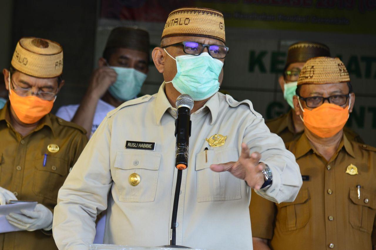 Usulan PSBB Gorontalo Ditolak, Gubernur Rusli Habibie Ancam Bakal Bikin Aturan Sendiri