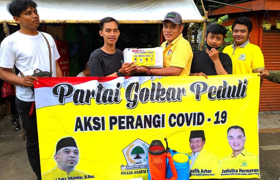 Tiga Legislator Golkar Jakarta Timur Gelar Baksos COVID-19 di Duren Sawit dan Pulogadung
