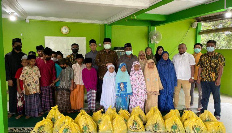 Bersama Ade Angga, AMPG Serahkan Sembako dan Santuni 2 Panti Asuhan di Tanjungpinang