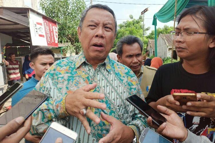 Benyamin Davnie Pede Rangkul Putra Ratu Tatu Chasanah di Pilkada Tangsel 2020