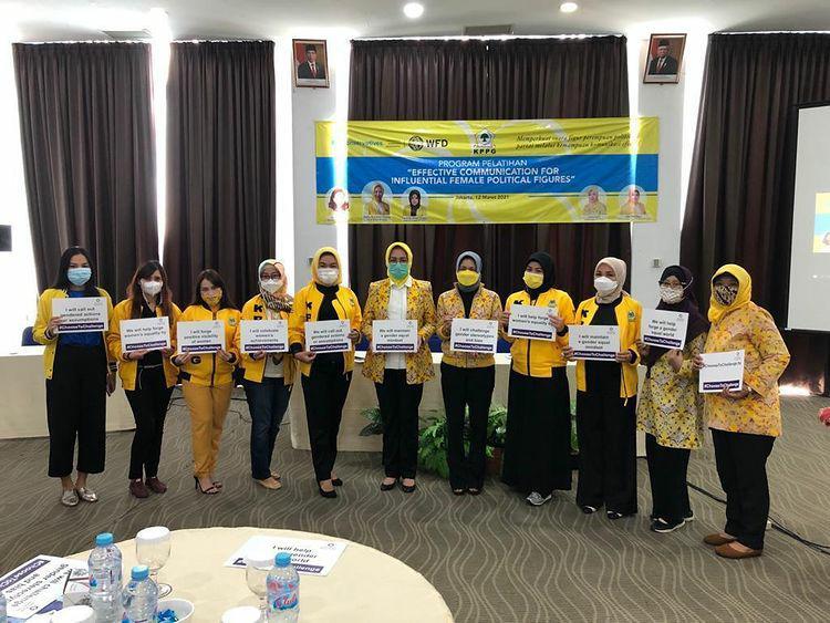 Airin Rachmi Diany: Perempuan Golkar Harus Mampu Kemas Gagasan Jadi Menarik Lewat Komunikasi