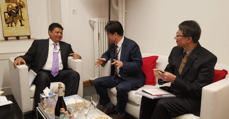 Menko Airlangga Hartarto Usulkan Skema Kredit Karbon di WEF Davos 2020