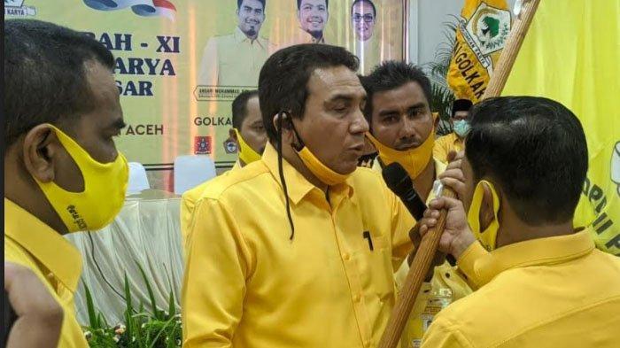 Ucok Sibreh Terpilih Kembali Pimpin Golkar Aceh Besar