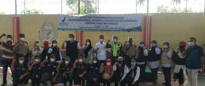 Gandeng BPOM Kota Medan, Delia Pratiwi Sosialisasi Makanan Aman Untuk Warga Batang Serangan