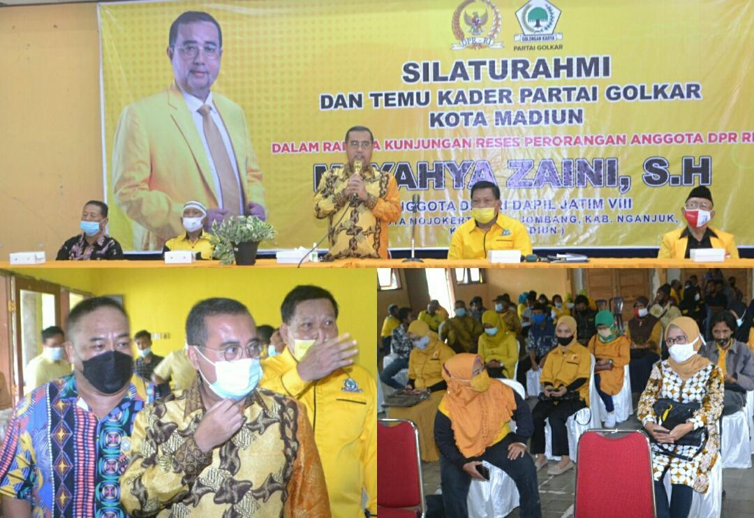 Reses di Kota Madiun, Yahya Zaini Ingatkan Protokol Kesehatan di Masa Pandemi COVID-19