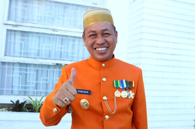 Eks Ketua Golkar Pangkep, Bupati Syamsuddin Hamid Positif Terpapar COVID-19