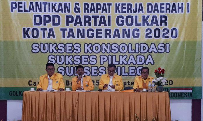 Rakerda Golkar Kota Tangerang Putuskan Sachrudin Direkomendasikan Jadi Balon Walikota 2023