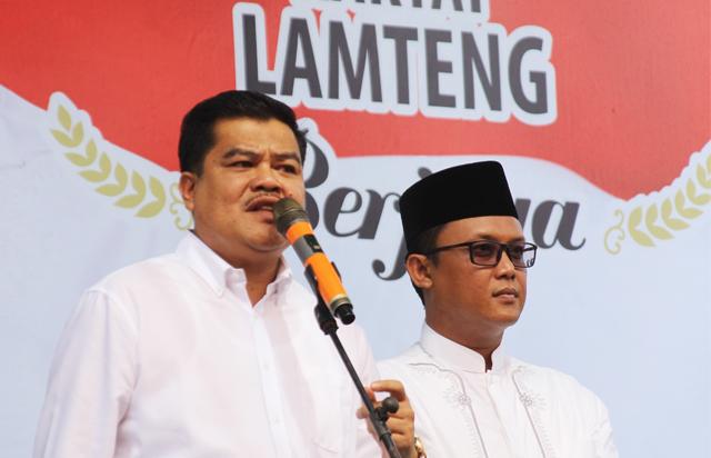 Pasangan Musa-Dito Siap Ulang Koalisi Berjaya di Pilkada Lampung Tengah 2020