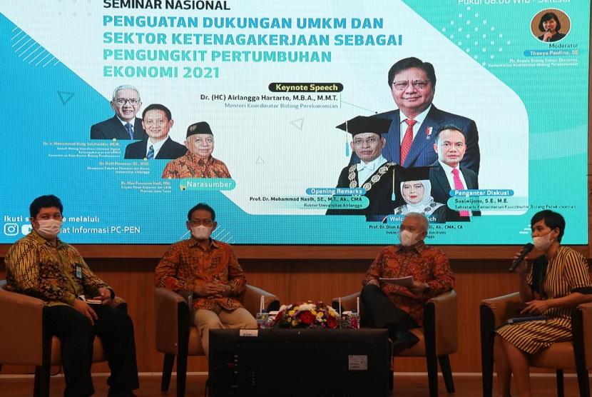 Gde Sumarjaya Linggih Dukung Airlangga Gelontorkan Rp.52,43 Triliun Bantu Koperasi dan UMKM