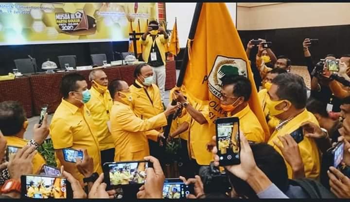 Selamat! Aras Tammauni Terpilih Pimpin Golkar Sulawesi Barat